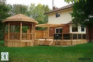 Deck with Gazebo Design Ideas