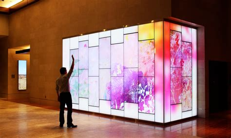 Interactive Art Wall by Float4 for the State Employee's