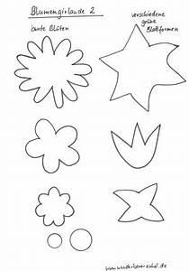 Blumen Basteln Vorlage : blumengirlande pflanzen basteln meine enkel und ich ~ Frokenaadalensverden.com Haus und Dekorationen