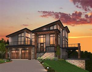 Exclusive, Trendsetting, Modern, House, Plan, -, 85147ms