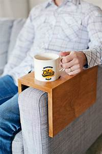 Wooden Sofa Sleeve with Cup Holder – A Beautiful Mess