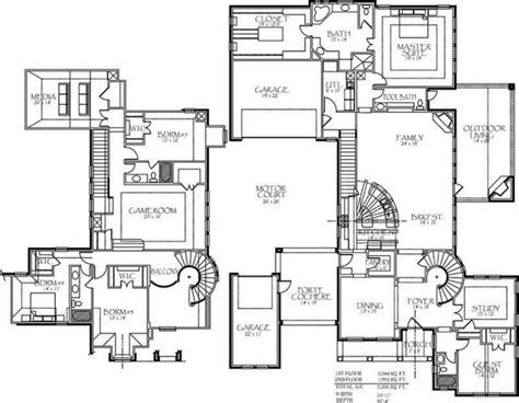 modern dunphy house floor plan awesome house plans