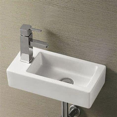 rondo wall hung small cloakroom basin    mm