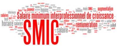 salaire minimum rel 232 vement du smic au 1er janvier 2016
