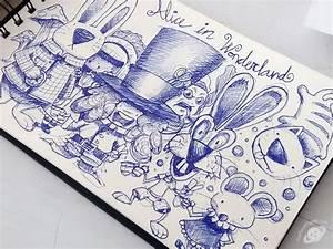 Alice in wonderland sketch - TheToonPlanet - Blog