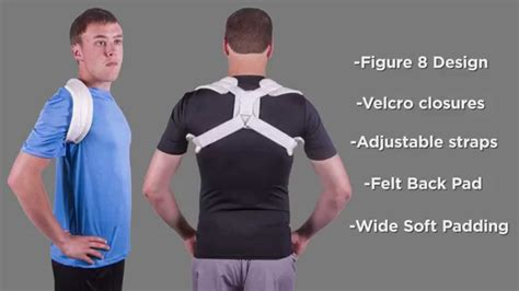 Figure 8 Clavicle Brace and Posture Support from