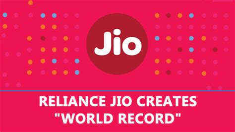 omg reliance jio creates quot world record quot in just one month