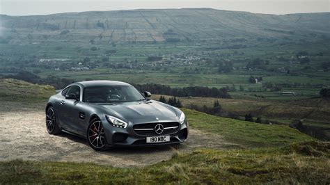 Hd Background Mercedes Amg Gt S Gray Black Front View