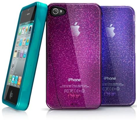 iphone 4s accessories iskin releases claro glam iphone 4 s cases that sparkle in