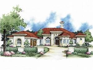 Mediterranean, Style, House, Plan