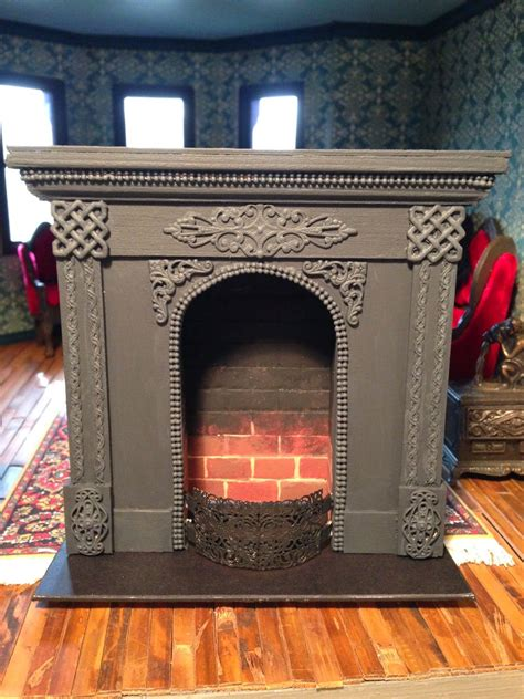 making  dollhouse fireplace natures soul miniatures