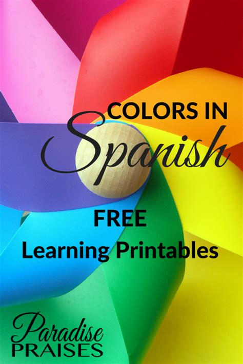 free learning colors in free learning printables
