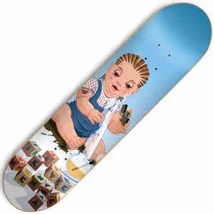 skate mental skate mental baby bong skateboard deck 8 0