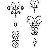 Bing Quilting Stencils sketch template