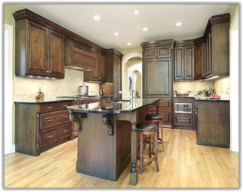 update oak kitchen cabinets  paint home design