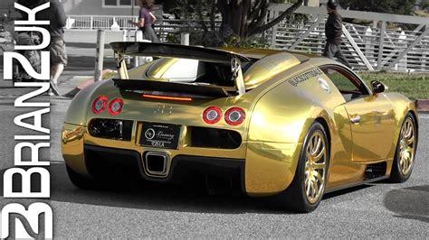 Golden Bugatti Veyron by Veyron Gold Buggti Www Bilderbeste
