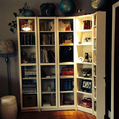 White Billy Bookcase by White Billy Bookcase With Doors The April