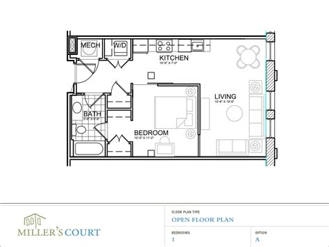 Small Home Floorplans by Small Open Floor Plans 1000 Sq Ft Small Open Floor