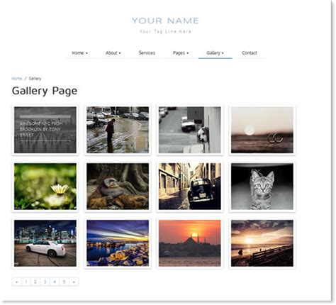 bootstrap gallery responsive bootstrap general theme 4 documentation