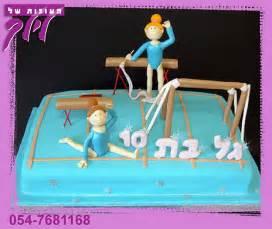 gymnastics cake toppers gymnastics cake flickr photo
