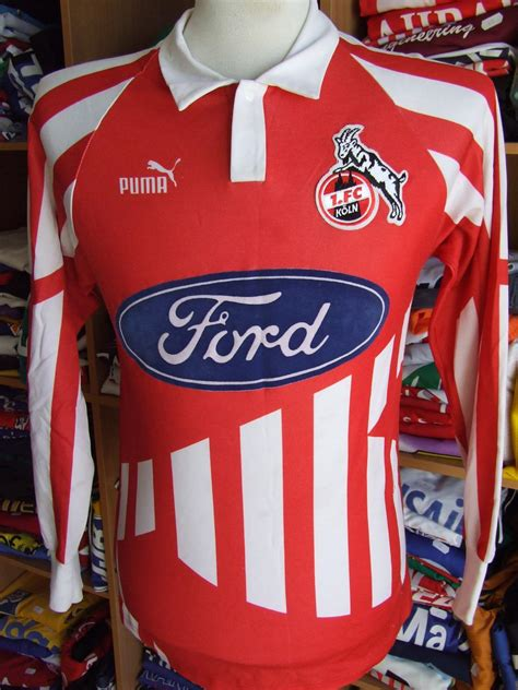 V., commonly known as simply fc köln or fc cologne in english (german pronunciation: 1. FC Koln Visitante Camiseta de Fútbol 1994 - 1995 ...