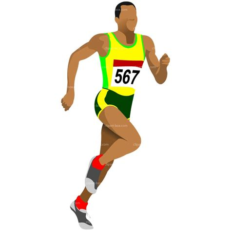 Running dance clipart image #11880
