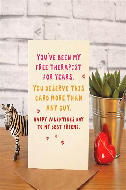 Gifts Happy Galentines Valentines Cards Friend Boyfriend