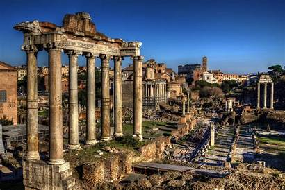 Rome Ancient Hdr Ruins Roman Wallpapers Aesthetics