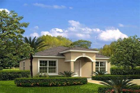 Luxury Single Story Mediterranean House Plans Simple Style