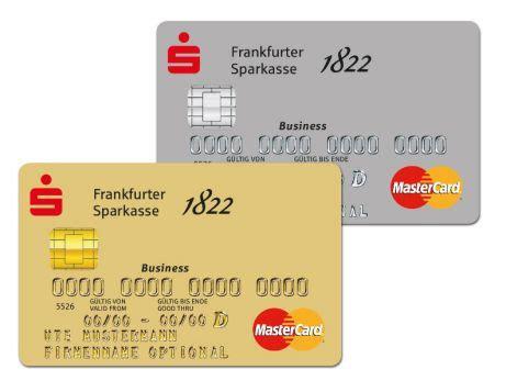 kreditkarte business bei der frankfurte sparkasse