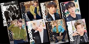 Billboard magazine releases limited edition covers ...