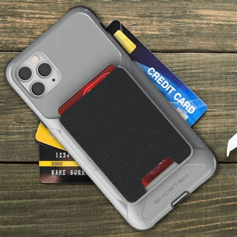 Wallet case made for perfect fit iphone 11 pro max. Magnetic iPhone 11 Pro Max Wallet Case with Detachable Card Holder - Ghostek