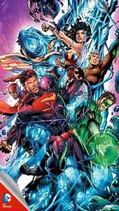 Justice League iPhone wallpaper | jim lee | Pinterest ...