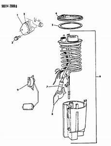 1990 Dodge W250 Fuel Pump Module