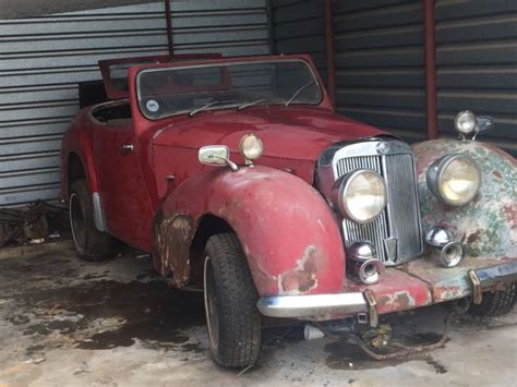 1949 triumph 2000 roadster left for sale technical specifications
