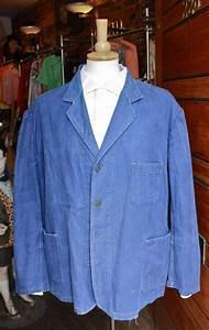 Bleu De Travail Castorama : vintage blue french work jacket bleu de travail xl ~ Dailycaller-alerts.com Idées de Décoration