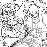 Coloring Train Steam Thomas Pages Engine Printable Drawing Sheets Sodor Locomotive Rocky Tank Splendi Railway Handy Manny Getdrawings Print Getcolorings sketch template