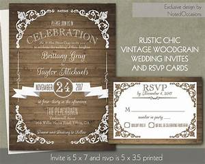 Rustic wedding invitation templates theruntimecom for Diy rustic chic wedding invitations free printable template ahandcraftedwedding