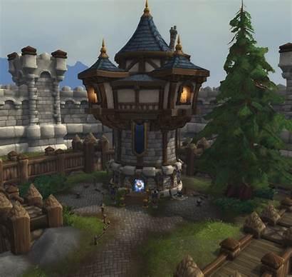 Tower Arathor Warcraft Wow