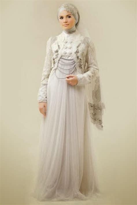 model gaun pesta malam muslimah terbaru  info
