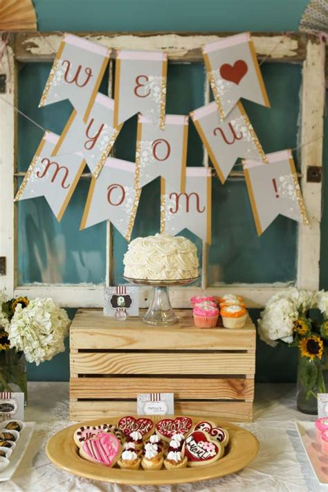 mothers day event ideas vintage shabby chic mother s day party ideas photo 21 of 22 catch my party
