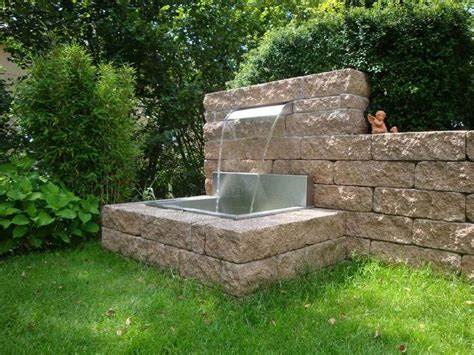 Wasserspiele Für Den Garten by Die Besten 25 Wasserspiel Garten Ideen Auf