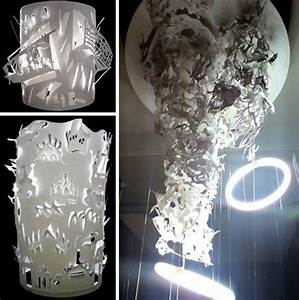 Eco-Friendly Lighting with Recycled Paper Lamps
