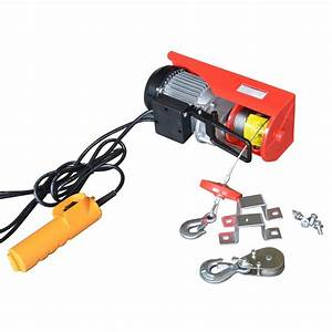 Max Load 440 Lb  Capacity Electric Hoist With Remote
