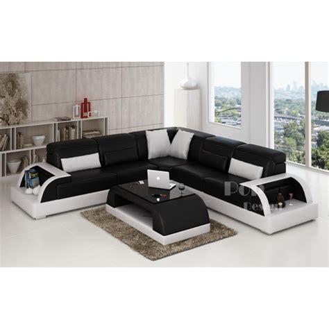 canapé d angle blanc photos canapé d 39 angle design noir et blanc