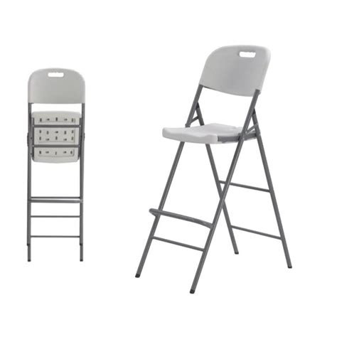 chaise haute pliante ikea chaise pliante haute en hpde bjs fournitures