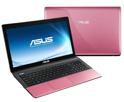 color laptops asus r500a colour series notebook pink