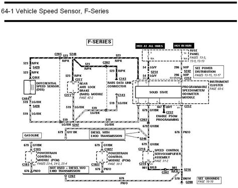 1992 Ford E350 Transmission Diagram by 1992 F150 Speedometer Not Working Ford Truck Enthusiasts