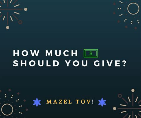 how much should you give for a wedding bar bat mitzvah gift amount 2018 how much money should
