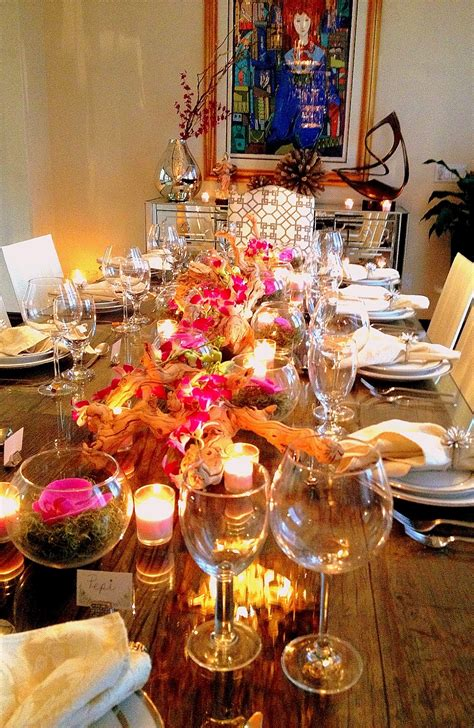 dinner table decorations for dinner parties the cuban in my coffee chic and easy dinner party decor